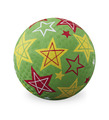 "5"" Green Stars Playball"