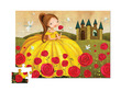 Beauty & Beast Shaped Puzzle additional picture 1