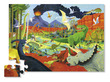 Land of Dinosaurs Shaped Puzzle additional picture 1