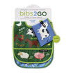 Barnyard Banter Bib / Set of 2 / Travel Pouch additional picture 1