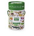 Reptiles & Amphibians Thirty-Six Animals Puzzle