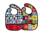 Kid's World Bib / Set of 2 / Travel Pouch