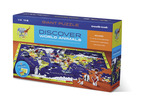Discover World Animals Learn + Play Puzzle 100pc