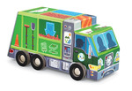 Recycle Truck Vehicle Puzzle