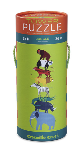 Jungle Tower Puzzle picture