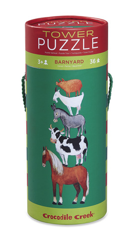 Barnyard Tower Puzzle picture