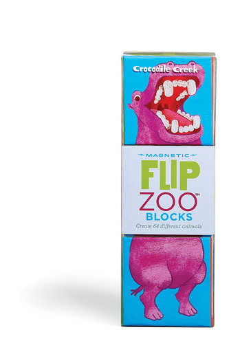 World Animals Flip Zoo Magnetic Puzzle picture
