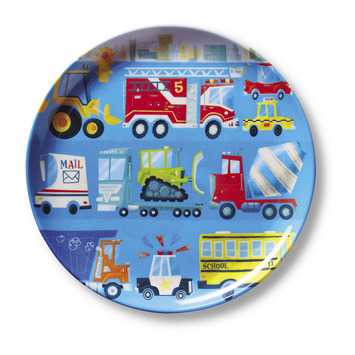 Busy City Plate picture