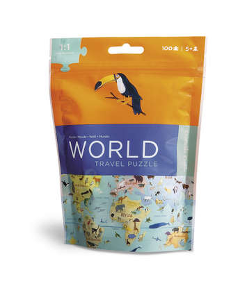 World Travel Pouch Puzzle picture