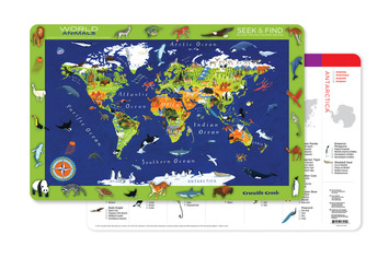 World Animals Placemat picture