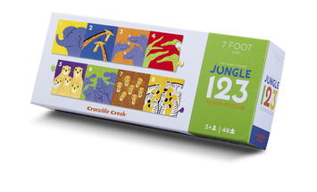 Jungle 123 Across the Room Puzzle picture