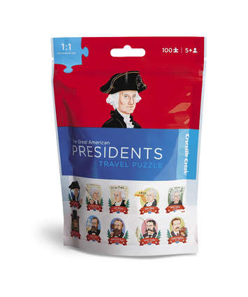 Presidents Travel Pouch Puzzle picture