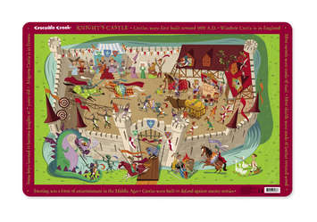 Knight's Castle Placemat picture