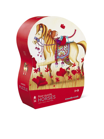 Horses Shaped Puzzle picture