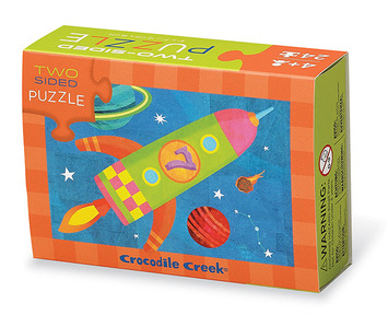Space Two-Sided Puzzle picture