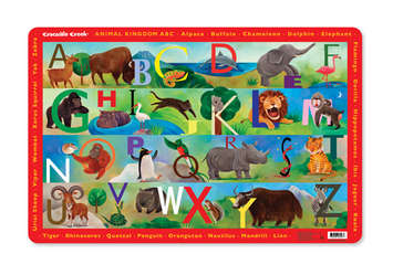 Animal Kingdom ABC Placemat picture