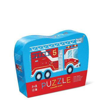 Fire Engine Mini Puzzle picture