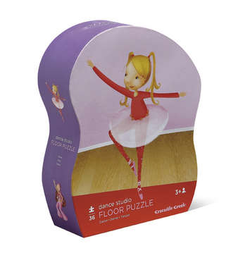 Dance Studio Shaped Box  Flr Puzzle picture