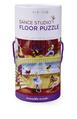 Dance Studio Canister Floor Puzzle