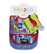 ABC Bear & Friends Bib / Set of 2 / Travel Pouch additional picture 1