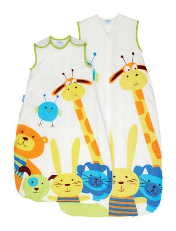 Grobag Baby Sleeping Bag - Peek a Zoo picture