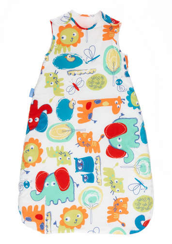 Grobag Baby Sleeping Bag - Doodle Zoo picture
