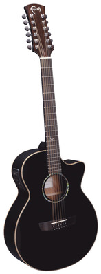 Faith Venus Guitar - 12 string Eclipse Finish with Pick-Up picture