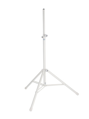 Double Braced Heavy Duty Speaker Stand - White picture