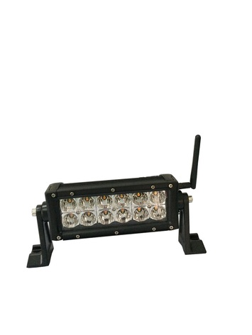 6 INCH LED LIGHT BAR 36 WATT, AMBER AND WHITE MULTIFUNCTION picture