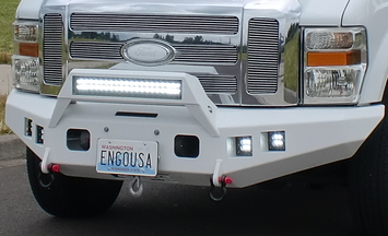 FORD SD FRONT MOUNT 08-10 INTEGRATED LIGHT BAR picture