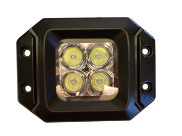 20 Watt LED Light Pair(Flange Mount) with Spot pattern(Cree)E2 picture