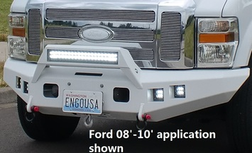CHEVY 11'-14' FRONT MOUNT WITH LIGHT BAR MOUNT picture
