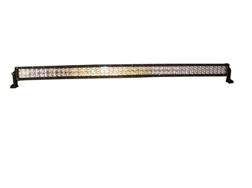 50 INCH LED LIGHT BAR 288 WATT, AMBER AND WHITE MULTI-FUNCTION picture