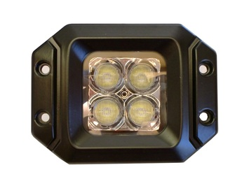 20 Watt LED Light Pair(Flange Mount) with Flood Pattern(Cree)E2 picture