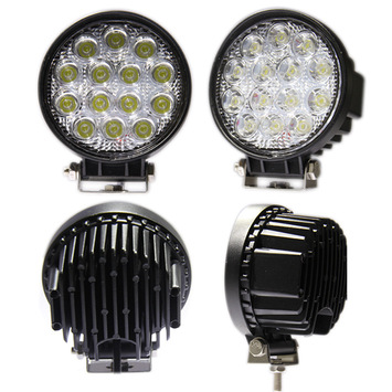 42 Watt Round (Flood) LED Work Light picture