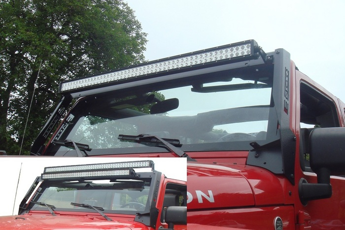 Jk led light bar multi mount free shipping made in the usa click this bar to view the full image aloadofball Choice Image