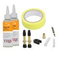 Tubeless Ready Tire Medic 17-25mm Combo Kit