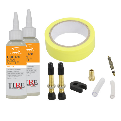 Tubeless Ready Tire Medic 17-25mm Combo Kit picture