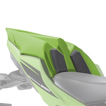 Kawasaki Ninja 650 Solo Seat Cover Lime Green picture