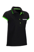 Kawasaki Ladies Black Polo shirt SIZE MED