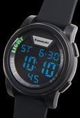 Kawasaki Digital Watch Black