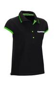 Kawasaki Ladies Black Polo shirt SIZE XLG