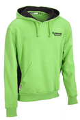 KRT Cotton Hoody lime & black : SIZE LRG