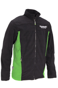 KRT Fleece black & lime - SIZE: Large L