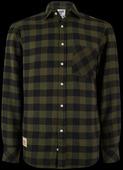 Kawasaki Plaid Shirt L