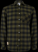 Kawasaki Plaid Shirt XL