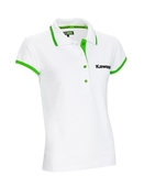 Kawasaki Ladies White Polo shirt SIZE MED