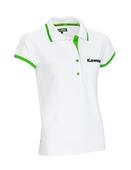 Kawasaki Ladies White Polo shirt SIZE LRG
