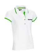 Kawasaki Ladies White Polo shirt SIZE MED