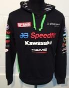 """Kawasaki Official BSB Hoody Size LRG 42"""""""